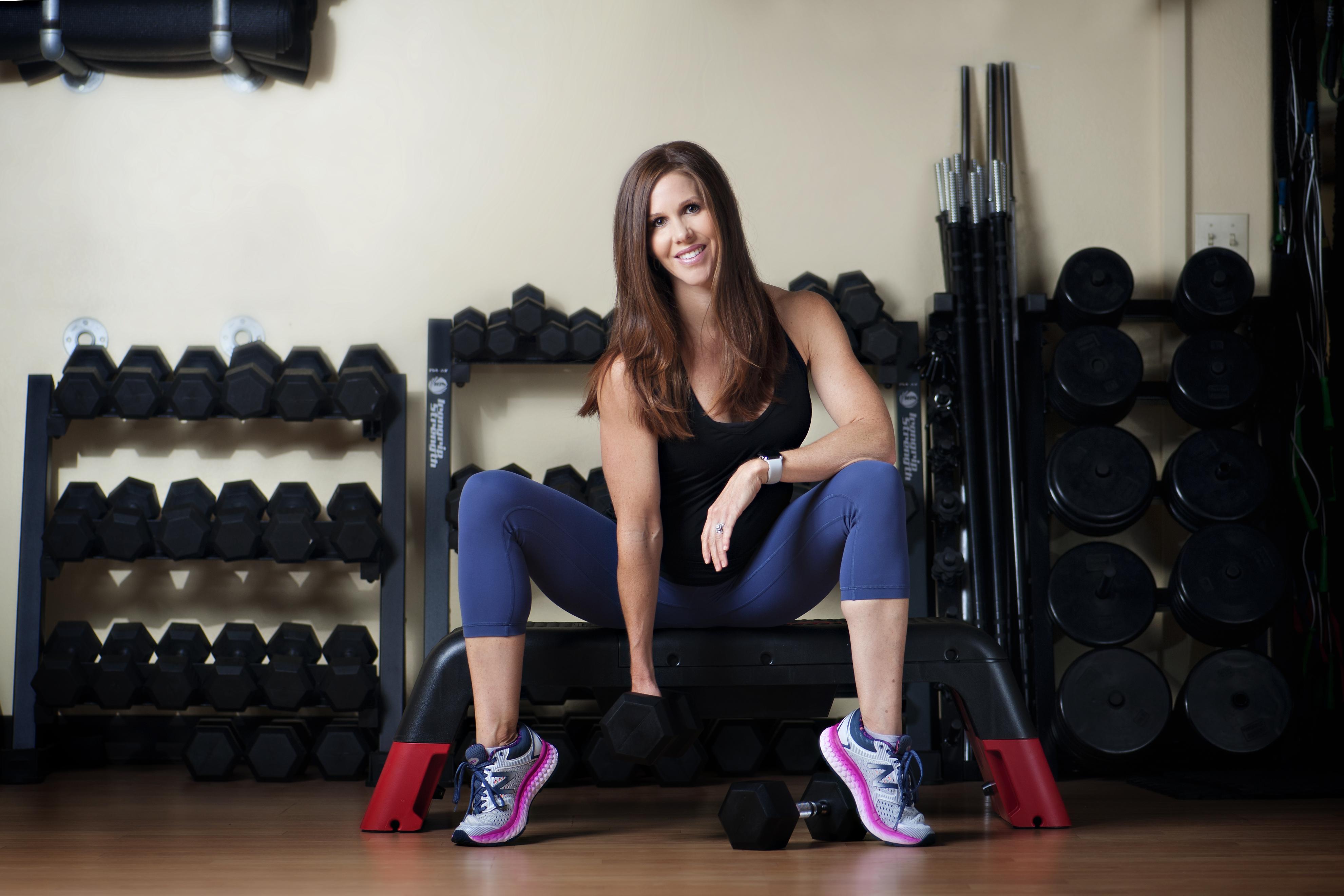 Workout dumbbells